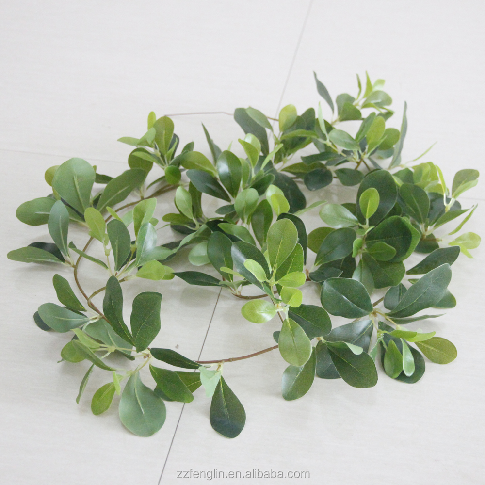 170cm hot selling fake leaves vine real touch artificial ivy garland with 237pcs leaves