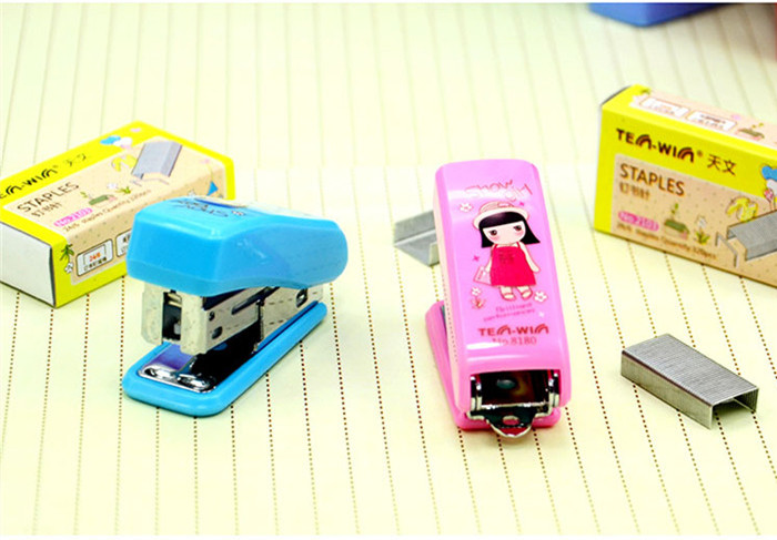 High quality stationery general Tenwin 8180 book binding stapler for hand