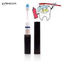 Buy Sonic toothbrush with LED lights hotel toothbrush china dental ...