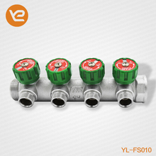 3 Way Forged Manifold For Floor Heating System