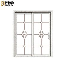 Commercial tempered glass indian model house main sliding front door design
