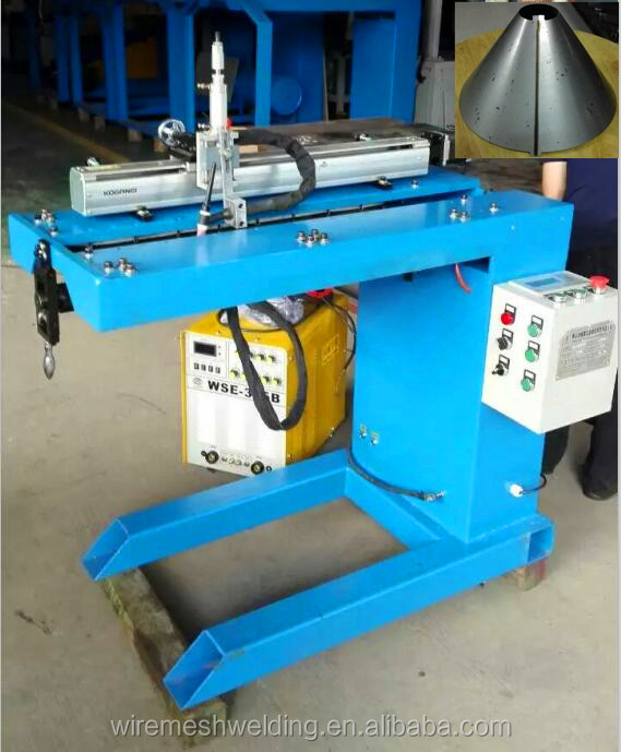 Longitudinal Seam Welding Machine to Weld Tank Cylinder Straight Seam