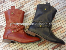 Pretty Steps 2013 new design new arrival price wholesale women ladies short boots from Guangzhou