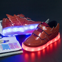 Comfortable beautiful casual girls stylish shoes with led light