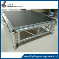 made in China good quality mobile stage portable event stage used stage curtains for sale