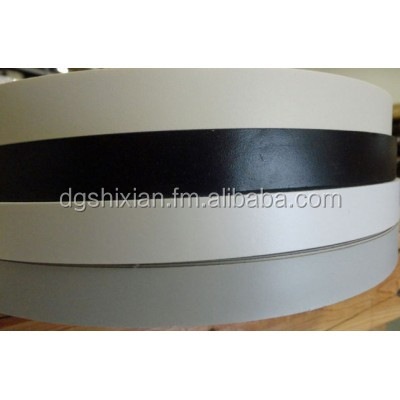 High quality bicolor /unicolor /wood grain pvc edge banding tapes