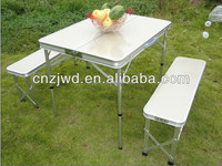 Outdoor Aluminum Portable picnic Table and benches