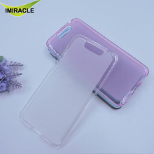 Silicon Pudding TPU Soft Mobile Phone Back Cover For ZTE Blade V8 Case