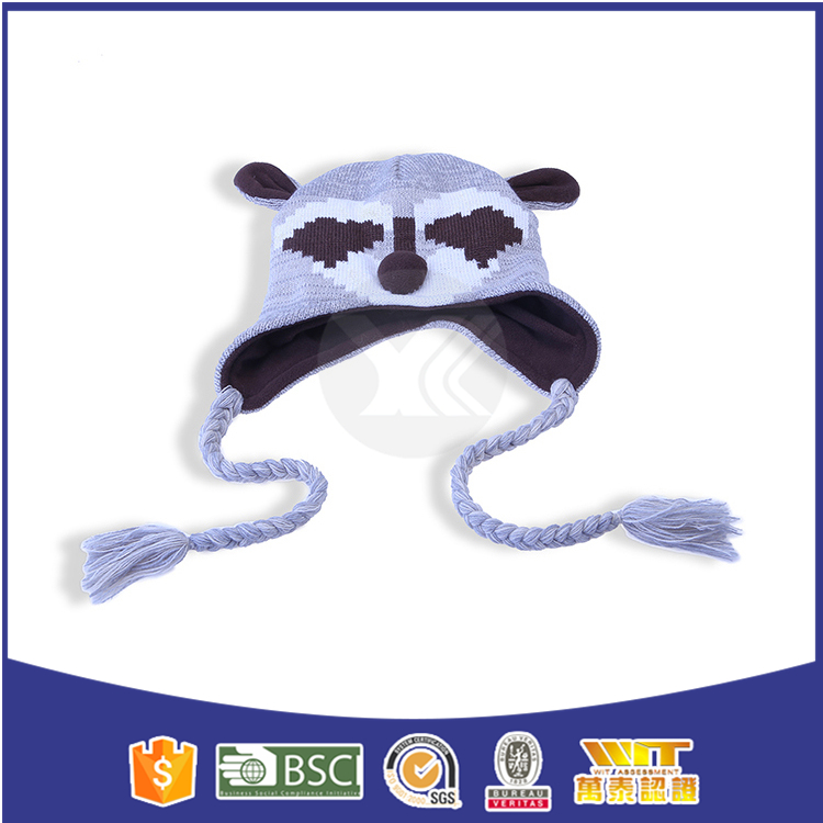 Hot selling funny pattern making animal hats