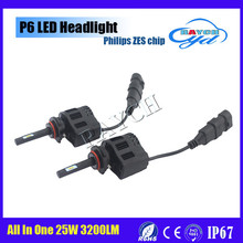 LED Lumileds P6,LED Headlight p6 3200LM Per Bulb / Auto Car Accessories