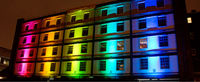 Water Proof Rgb Led Construction Project Decoration Light