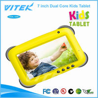 Hot new products wholesales Kids learning 7 inch Android kids Tablet PC