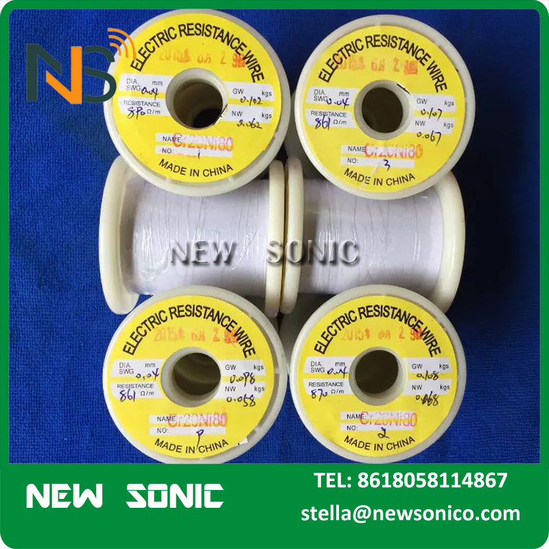 Made In China High Quality Cheap Price NC005 NC050 Heating Resistance Copper Nickel Cr15Ni60 Nichrome Wire