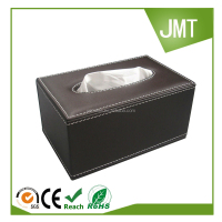 Perfect Rectangle Shorter Leather Tissue Box Case