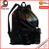 Cheap Price Drawstring Mesh Sports Bag Gear Bag