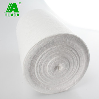 CE approved absorbent 2ply 4ply gauze roll