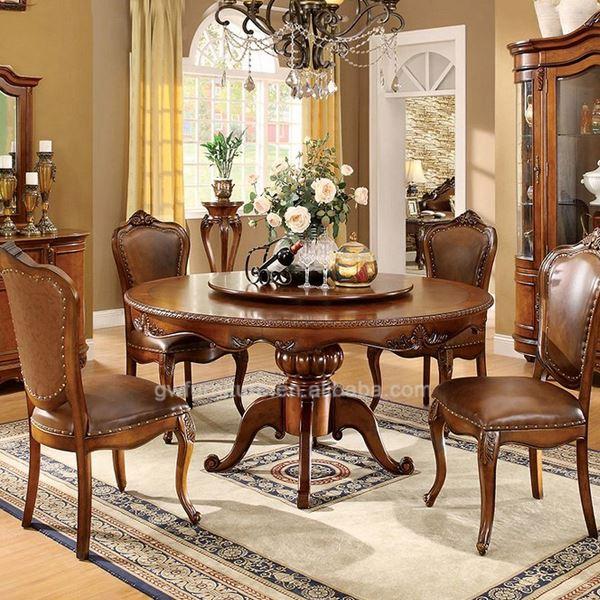 Moderne bois de luxe manger chaise et de table lots de for Salle a manger de luxe moderne