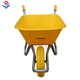 Wheelbarrow Specifications Standard Factory Price Construction Garden Plastic Wheelbarrow