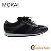 002-1 BLACK hot sale soft sole comfortable popular running walking sneaker shoes