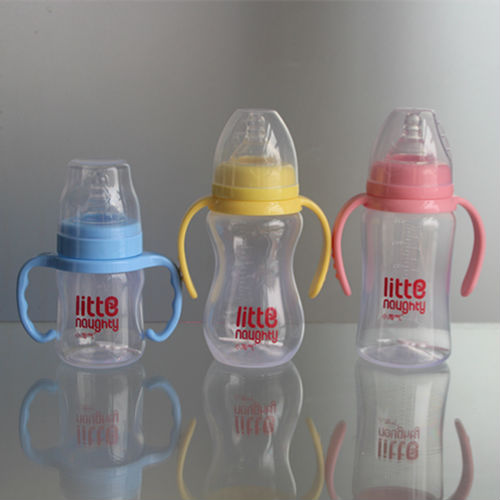180ML wide neck pp baby feeding bottle