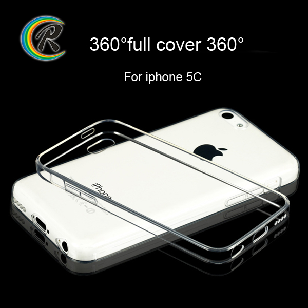 Clear soft for iphone case for apple iPhone 5c tpu back shell mobile phone case
