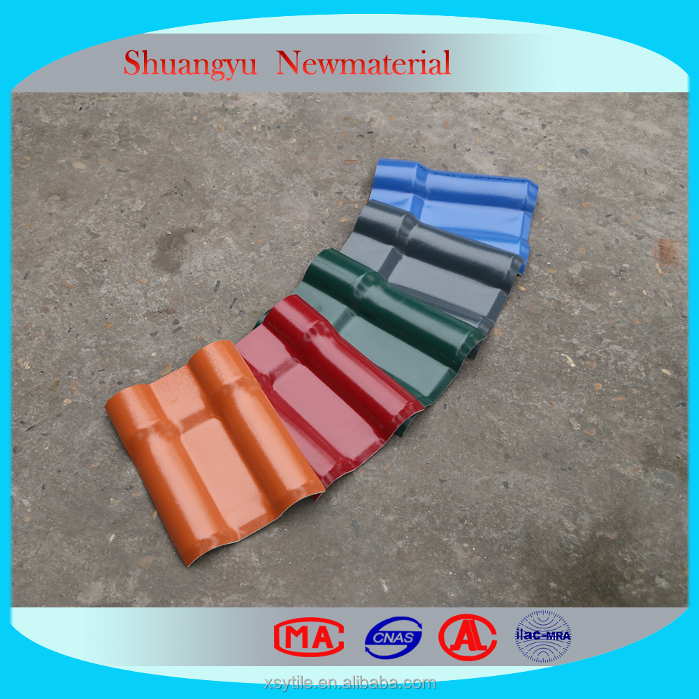 APVC Corrugated Plastic Roofing Sheet Tile.