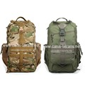 Two colors Paintball Pack Canvas USMC Tactical Survival Trekking Gear Assault MOLLE Backpack Rucksack Bag CL5-0048