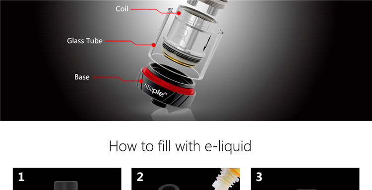 wholesale uk E Cigarette Sub-ohm tank Authentic Ample Firefox Tank
