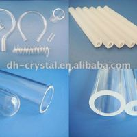 Tempered Silicon Quartz Tube