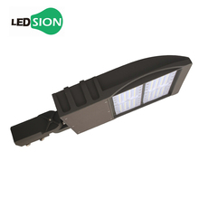 US stock 150w High Pole led shoebox light UL list 140lm/w led parking lot lighting