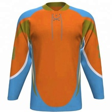 Top quality hot fashion Sublimation Ice Hockey Jersey