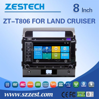 8 inch 2 din in-dash car dvd player for Toyota FJ cruiser car radio with pioneer car audio Support steering wheel control DVD