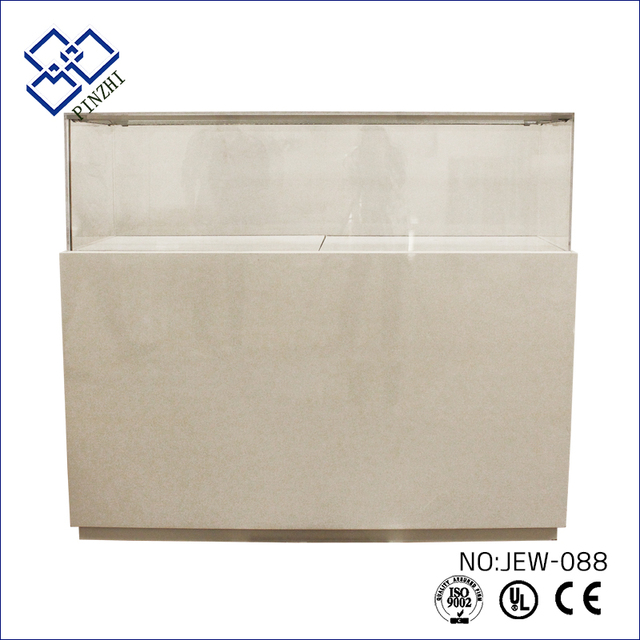 Newest High End Modern design jewelry display cabinet