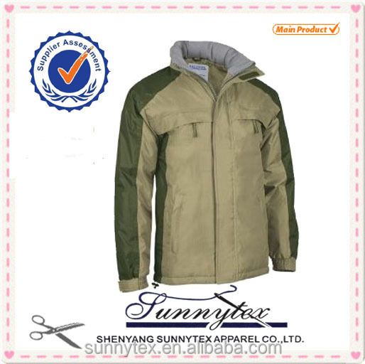 Hot Selling Winter Padded Navy Work Jacket