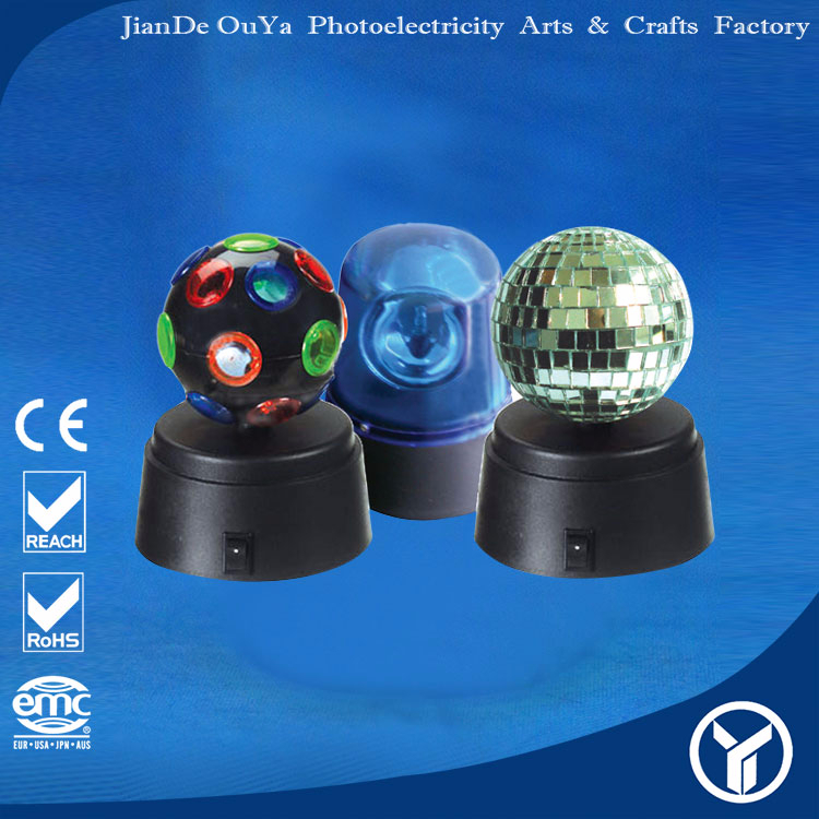 Hot sale 4155/ 4155F/ 4820 Mini Disco ball/ Mirror ball/ Siren lamp Party Light Set