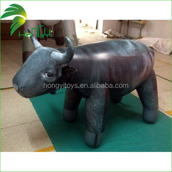 2M PVC material custom size riding comfortable inflatable bouncing bull