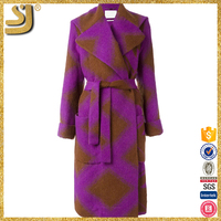 New arrival high quality cheap wool woman coats