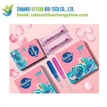 Wholesale mini/regular/super size organic tampons for women