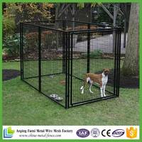 Backyard and garden heavy duty outdoor welded wire mesh dog panels big cage fo sale