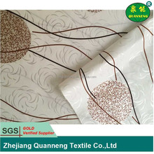 Latest design 100 polyester tricot mattress ticking fabric