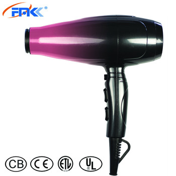2200Watt Professional AC & DC Motor Cold Air Function Shot Hair Dryer with Ionic Function