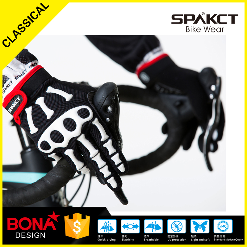 Spakct gym gel half Finger Men Cycling Gloves Slip mtb bike/bicycle racing sport breathable shockproof COOL04B