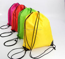 Colorful Cheap Plain Large Backpack Drawstring Bags