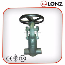 A105 High Pressure Rising Stem Gate Valve 2500LB
