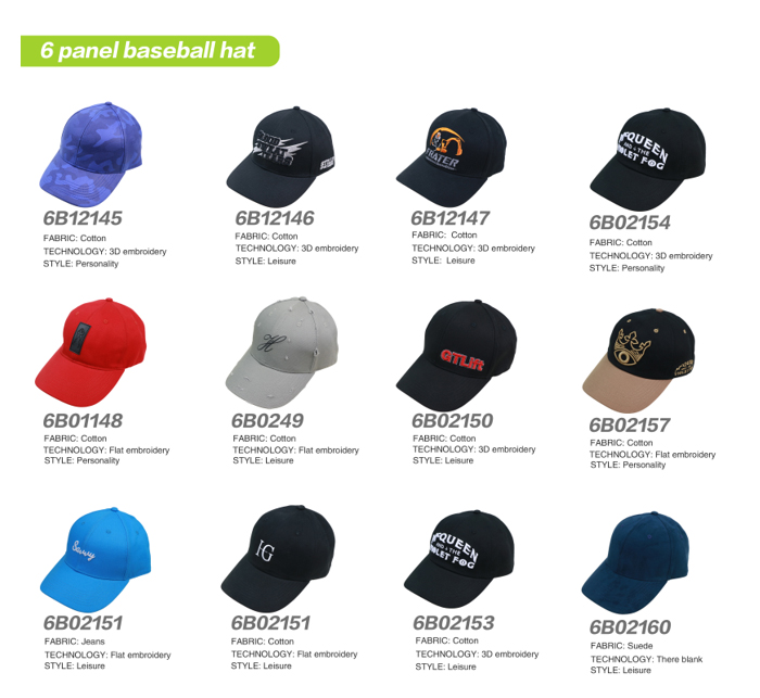 Blank cotton custom cycling cap wholesale
