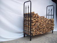 steel rack for firewood