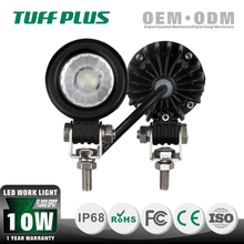 Good quality 2'' small 10w 700lms led work light