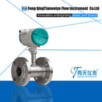 oil flow totalizer meter with pulse output