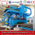 Steel Plate Shot blasting and painting machine