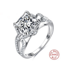 KN-1 Fashion Ring Jewelry 925 anillo de plata